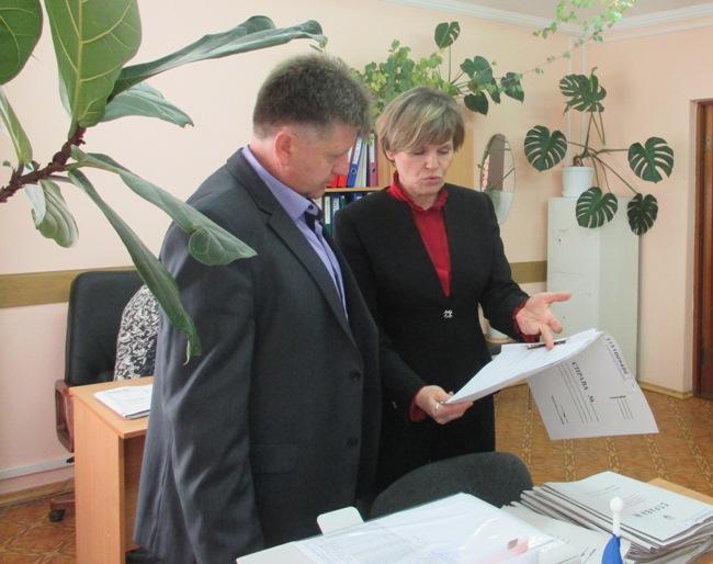 Александр Мачусский посетил  «Центр занятости населения» в Ленинском районе