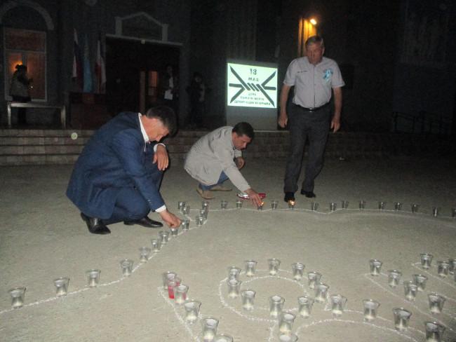 Александр Мачусский принял участие в акции «Зажги огонь в своем сердце»